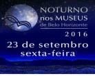 Transporte gratuito para Noturno nos Museus