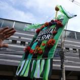 Bloco Bruta Flor faz apresentação na semana da mulher