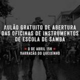 Aulão aberto do Bloco Samba do Queixinho