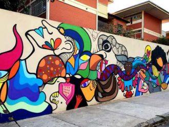 Programa Gentileza chega para colorir Santa Tereza