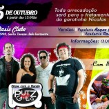 Feijoada e show beneficente com a Banda Putz Grilla