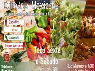Viagem gastronômica  pelo México