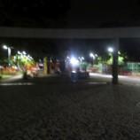Praça Duque de Caxias precisa de reposição de lâmpadas
