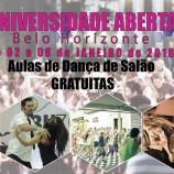 Aulas gratuitas de dança de salão