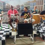 Trem das Onze faz roda de samba