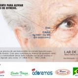 Lar das Idosas lança campanha de contribuição financeira