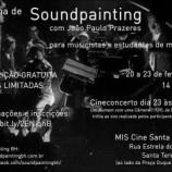 Oficina Soundpainting no MIS Cine Santa Tereza