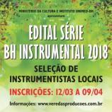 Inscrições abertas para a série BH Instrumental