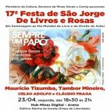 Festa São Jorge de Rosas e Livros
