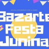 Bazarte junino em Santa Tereza