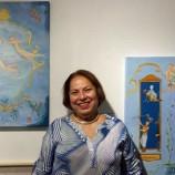 Ateliês de Santê: A pintura de Vânia Cury