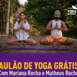 Aulão gratuito de yoga na Praça