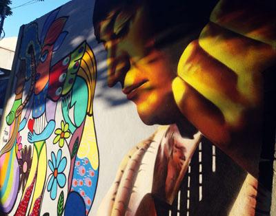 Toninho Horta é obra de arte em Santa Tereza