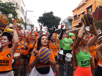 Protagonismo feminino no Carnaval de BH