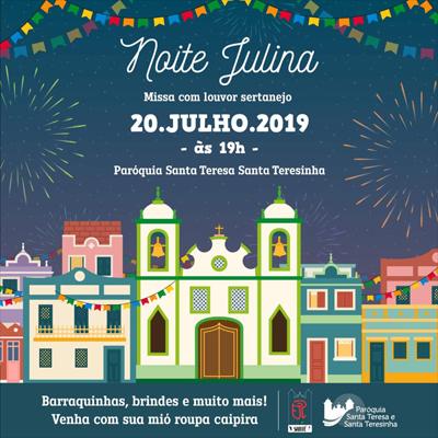 Festas julhinas do fim de semana 19 e 20 de julho
