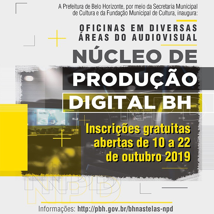 MIS Cine Santa Tereza abre inscrições gratuitas para Nucleo de Produção Digital