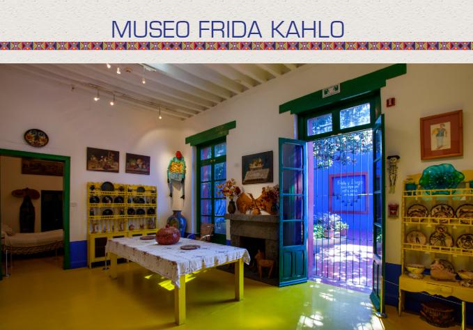 Último dia do tour virtual gratuito pelo Museu de Frida Kahlo