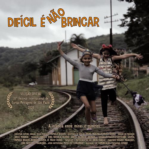 """Filme mineiro """"Difícil É Não Brincar"""" está no Festival de Curtas de São Paulo"""