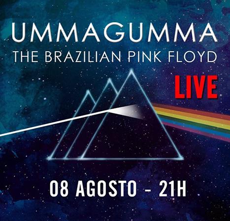 Banda Ummagumma The Brazilian Pink Floyd faz apresentação solidária