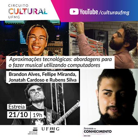 """""""Aproximações tecnológicas"""" com musicas a partir de computadores vira show"""