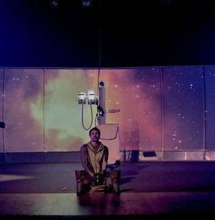 """Espetáculo on-line """"O Astronauta"""" com Eriberto Leão"""