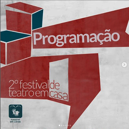 2ª edição do Festival de Teatro em Casa online