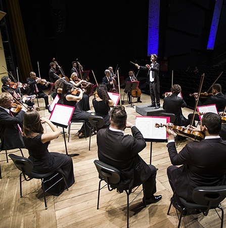 """Orquestra Sesiminas Musicoop apresenta """"Os 3 Bês da Música"""""""