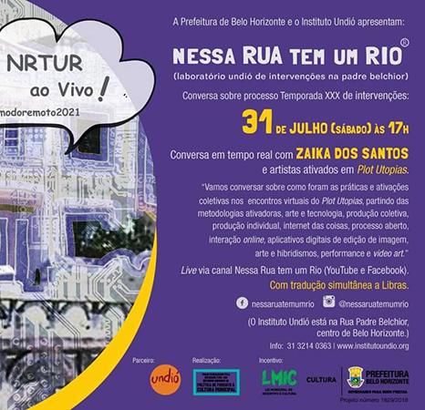 Live de encerramento da XXX Temporada Nessa Rua Tem Um Rio